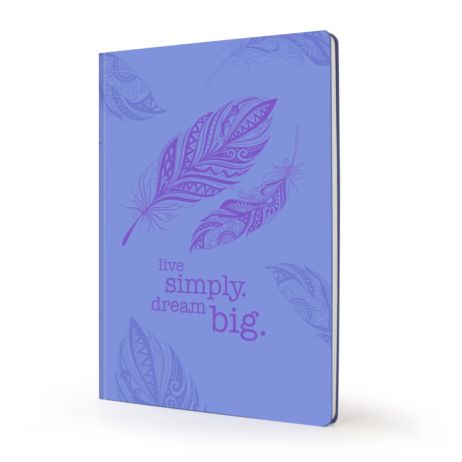 Image shows purple dream big Scribblz Journal