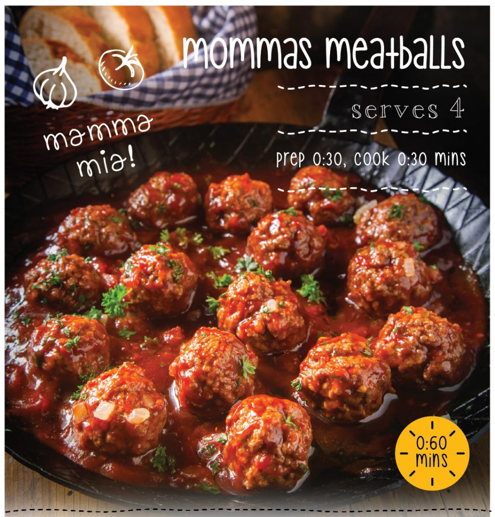Mommas meatballs recipe