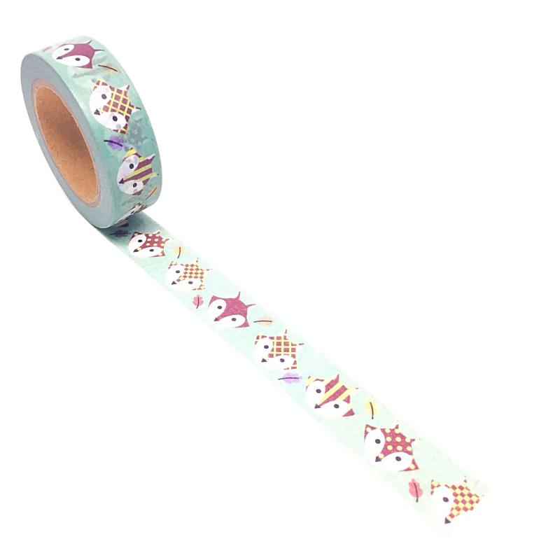 Image shows a peeping cats washi tape