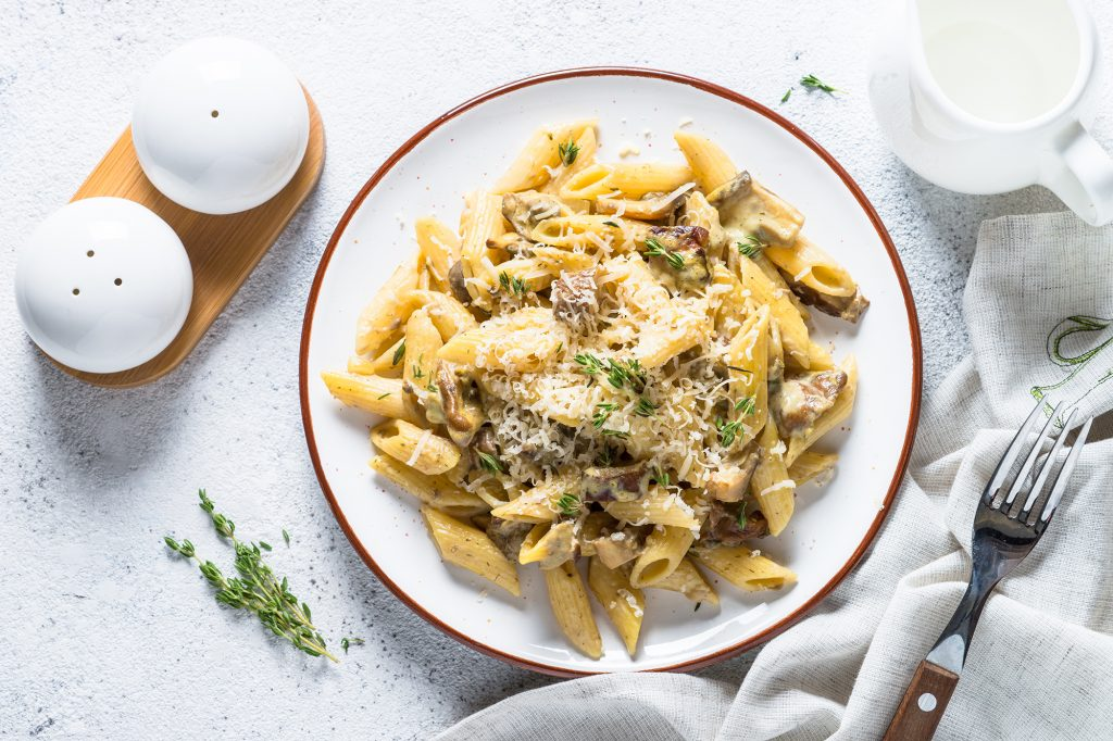 recipe garlic-and-mushroom-pasta