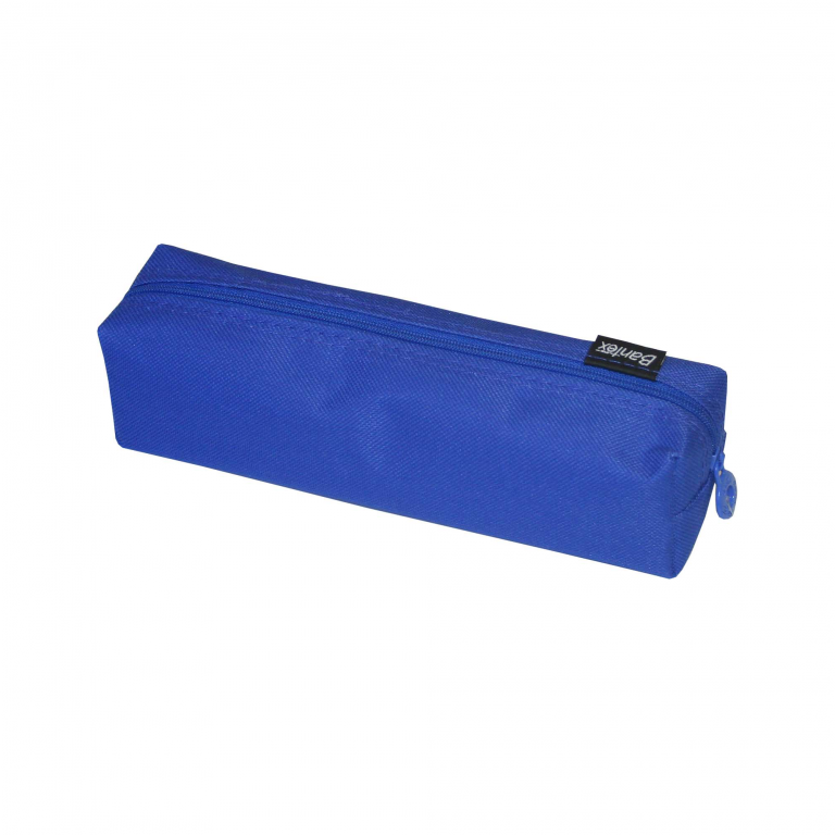 Image shows a Blue Pencil Bag