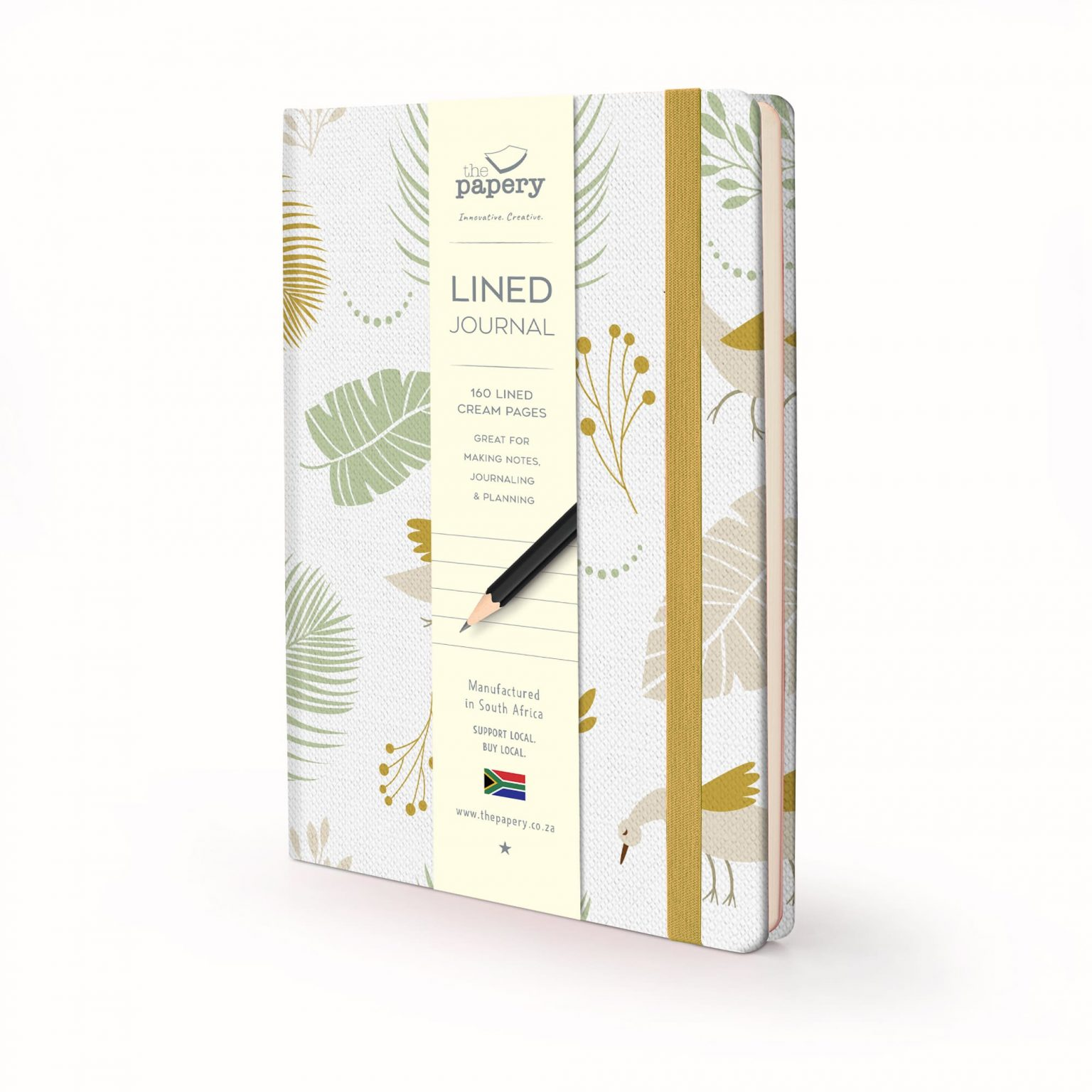 Image shows a Nature Bird Hardcover journal