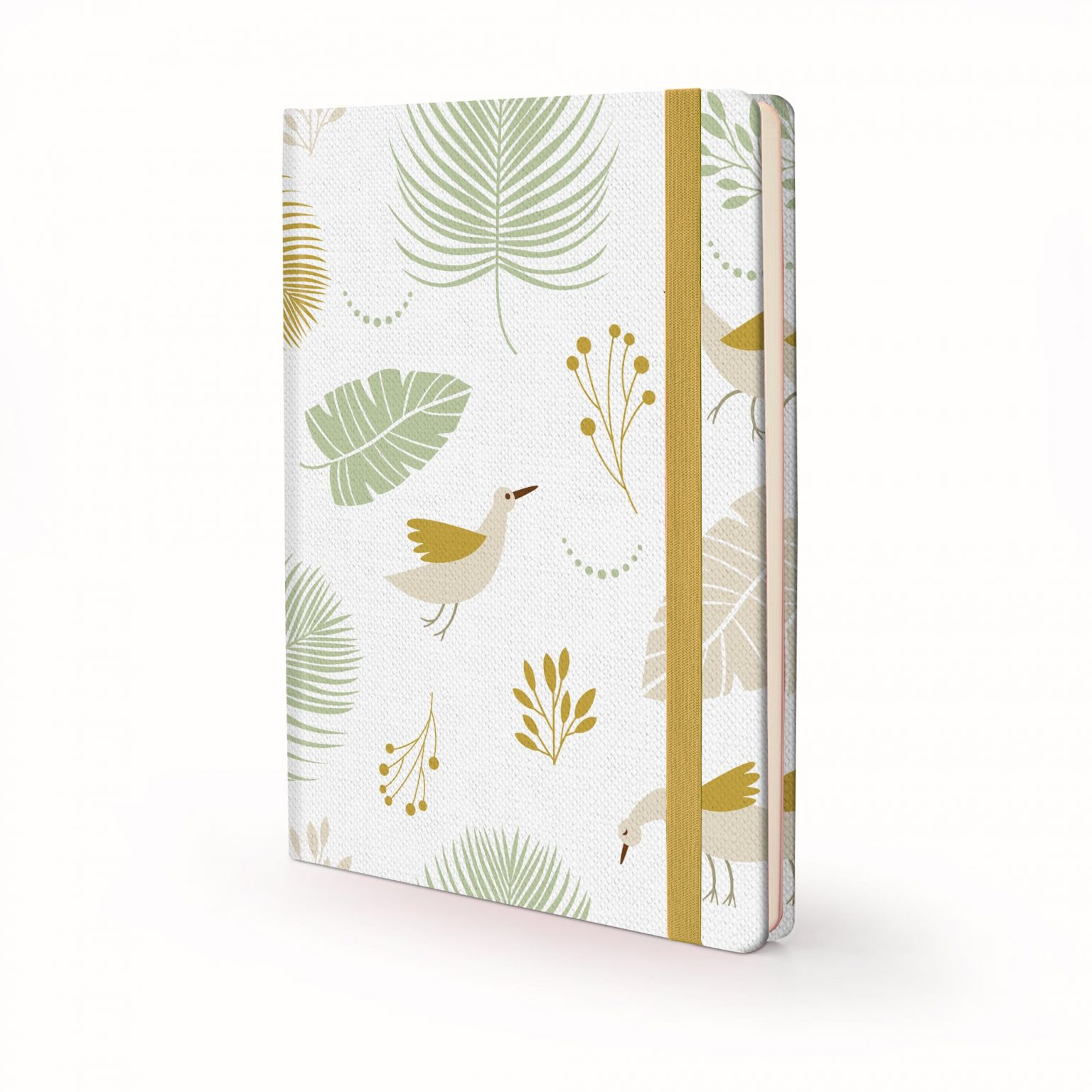 Image shows a Nature Birds Hardcover journal