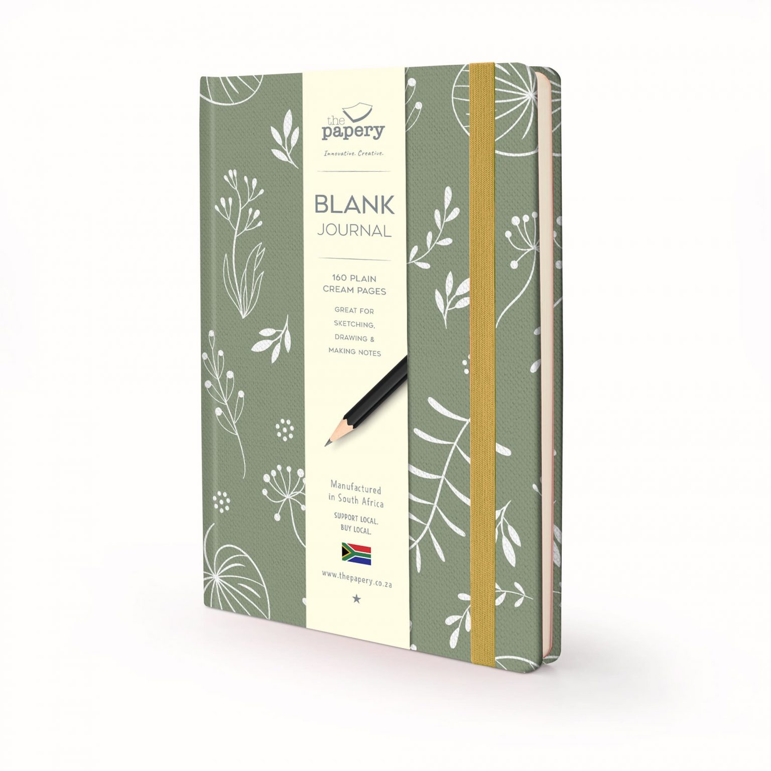 Nature Floral Hardcover journal