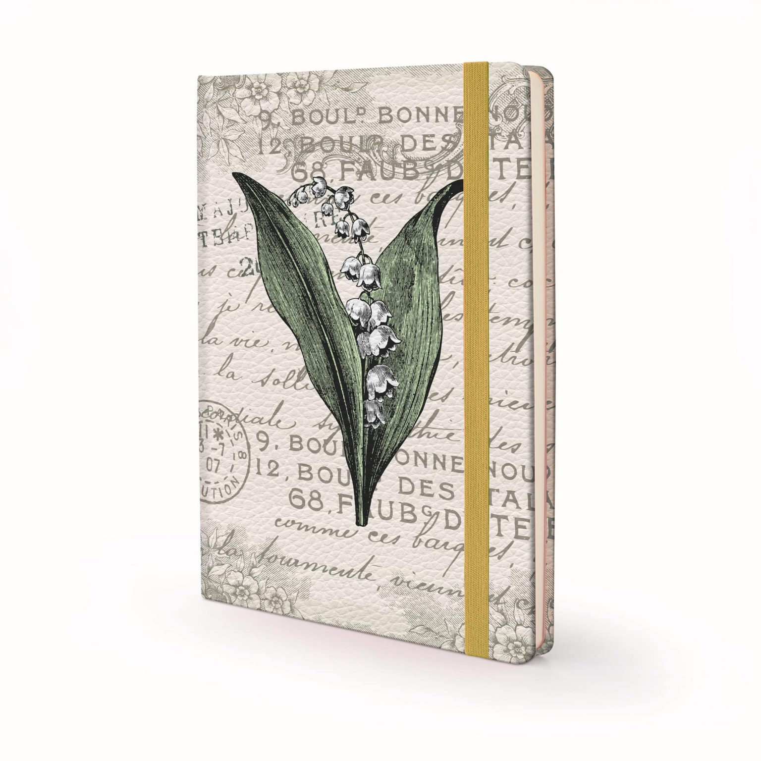 Image shows a Vintage Designed Hardcover Journal